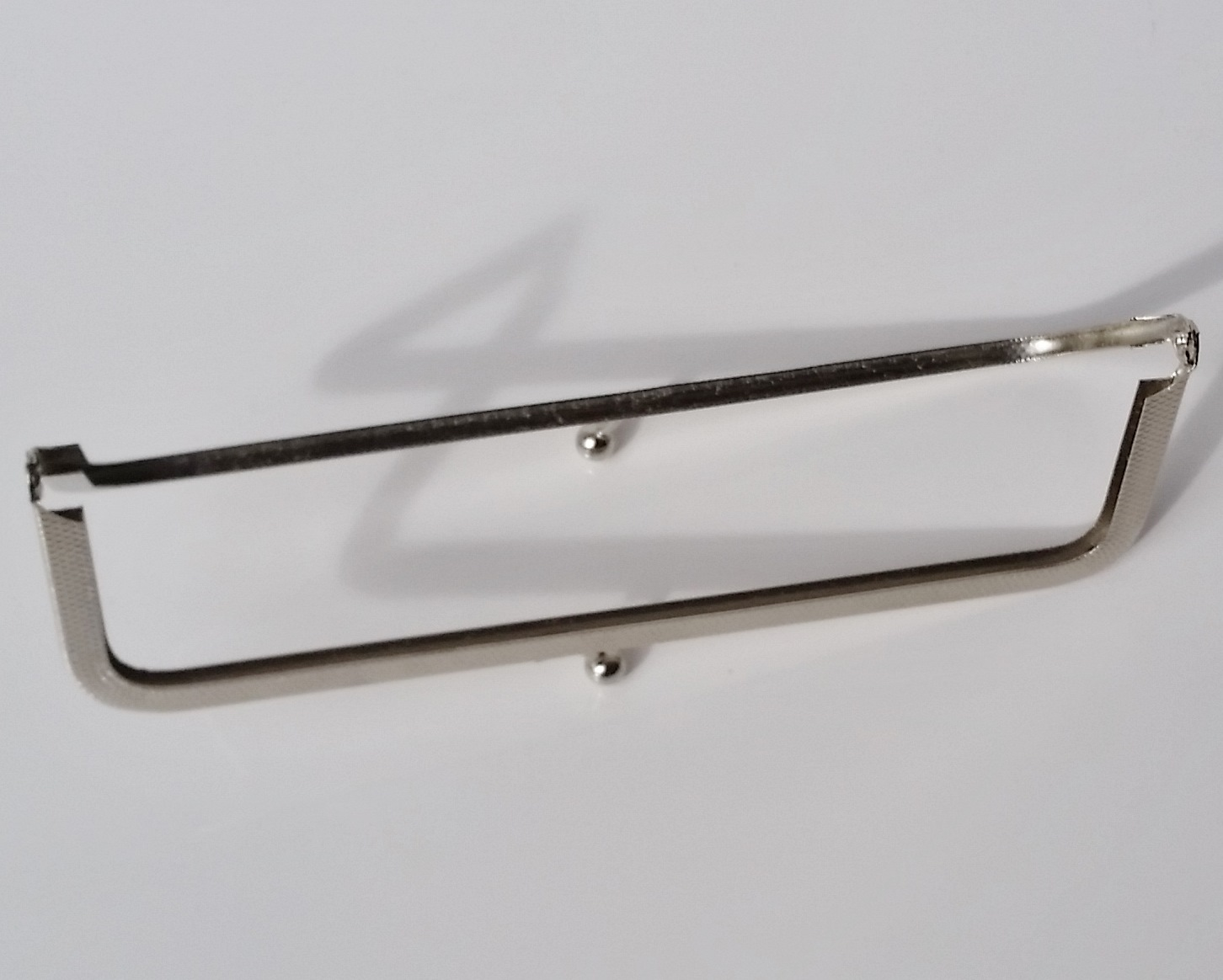 Armação 16cm x 5cm Niquelada