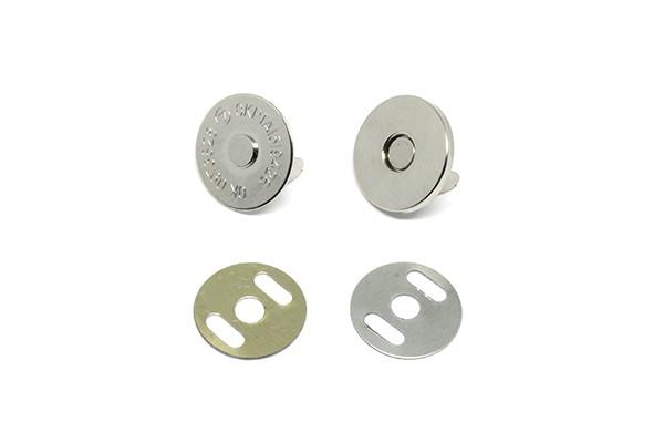 Botão Magnético 18,5 mm Niquelado