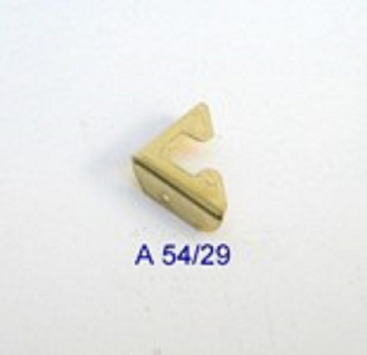 Canto p/ Caixa 15mm x 15mm Latonado