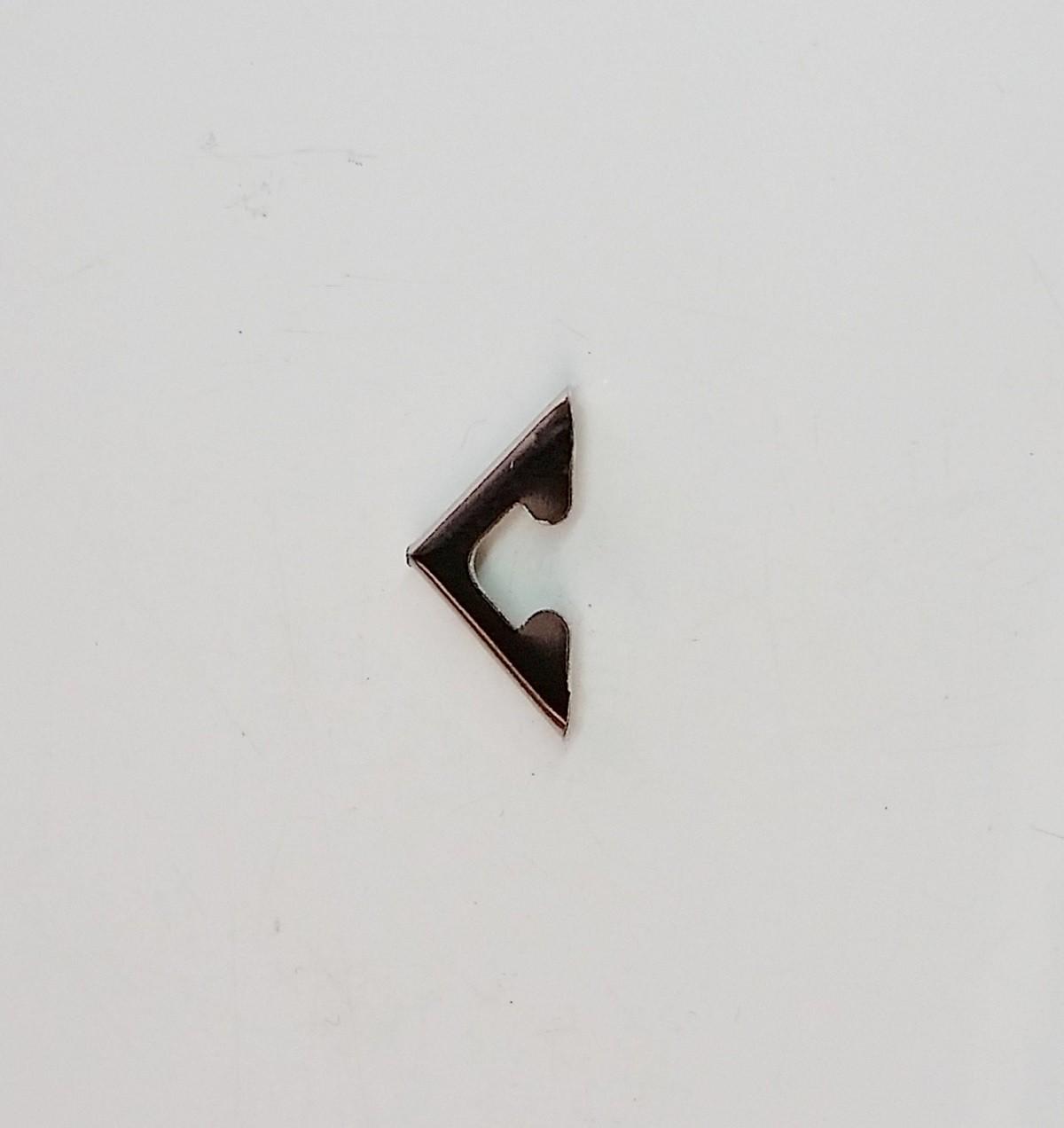 CANTO P/ CAIXA 15MM X 15MM NIQUELADO
