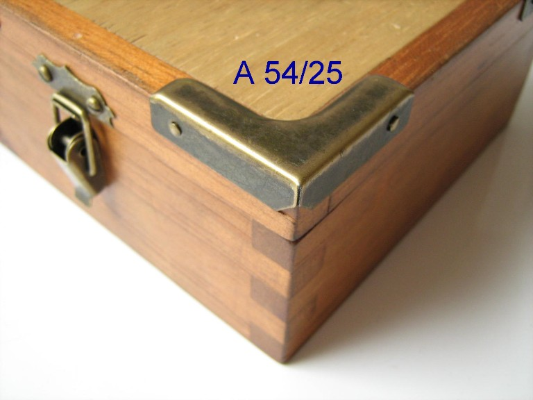 Canto p/ Caixa 33mm x 33mm Ouro Velho