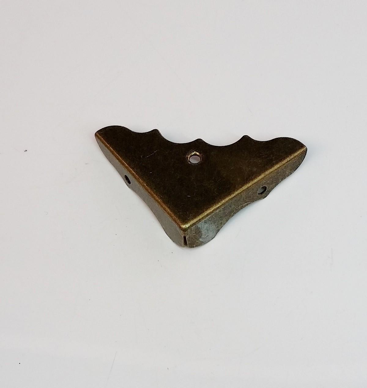 Canto p/ Caixa 37mm x 37mm Ouro Velho