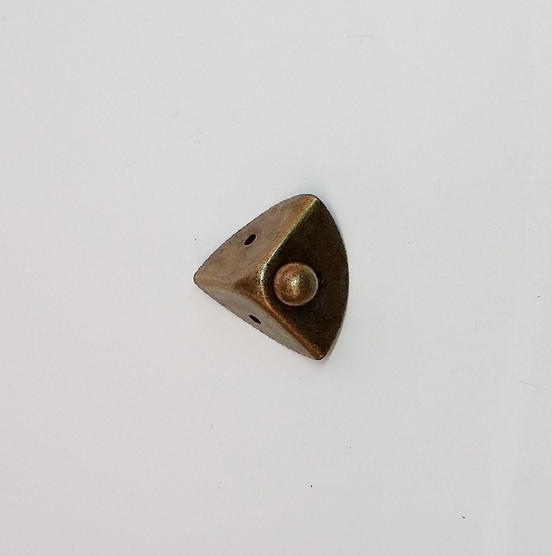 Canto Pequeno p/ Caixa c/ Bolinha Ouro Velho