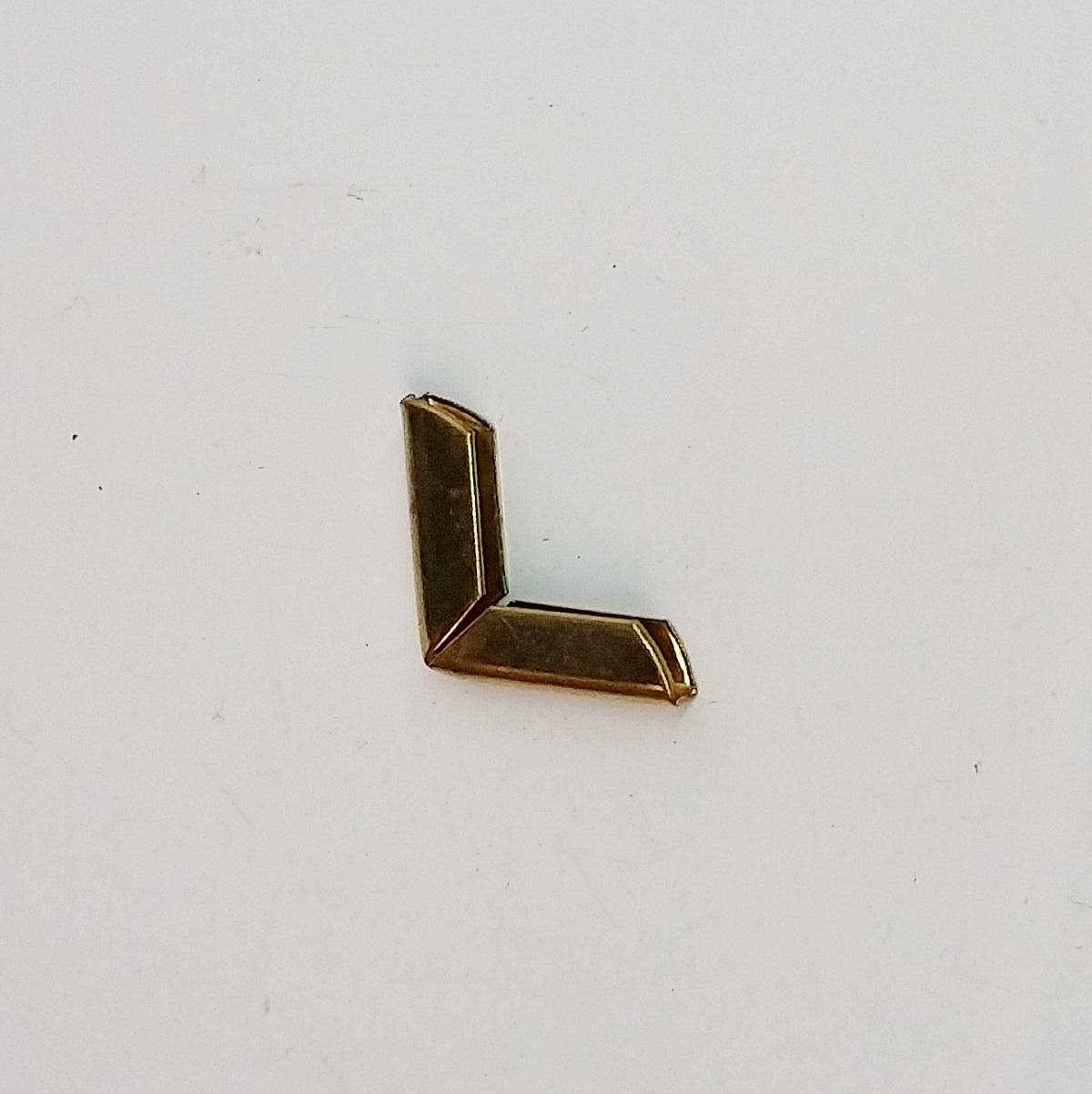 Cantoneira 15mm x 15mm Latonada
