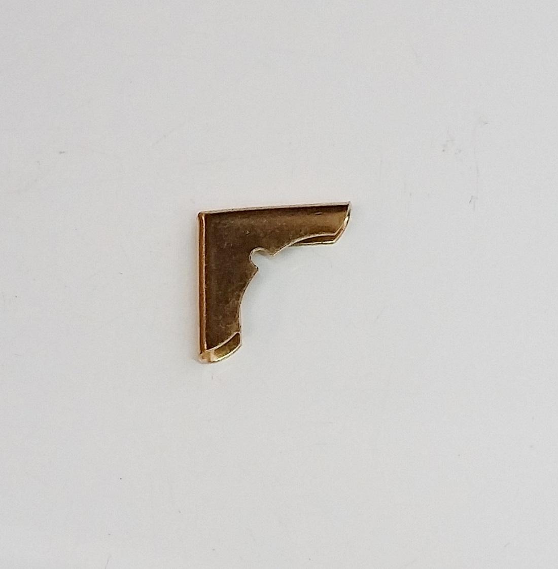 Cantoneira 18mm x 18mm Latonada
