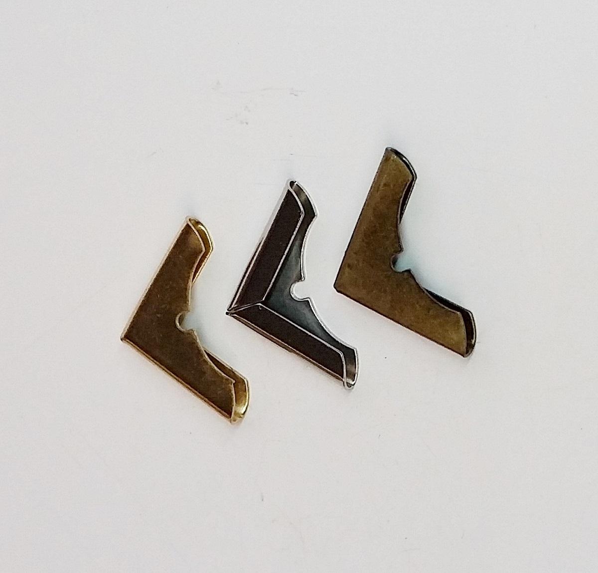 Cantoneira 18mm x 18mm Ouro Velho