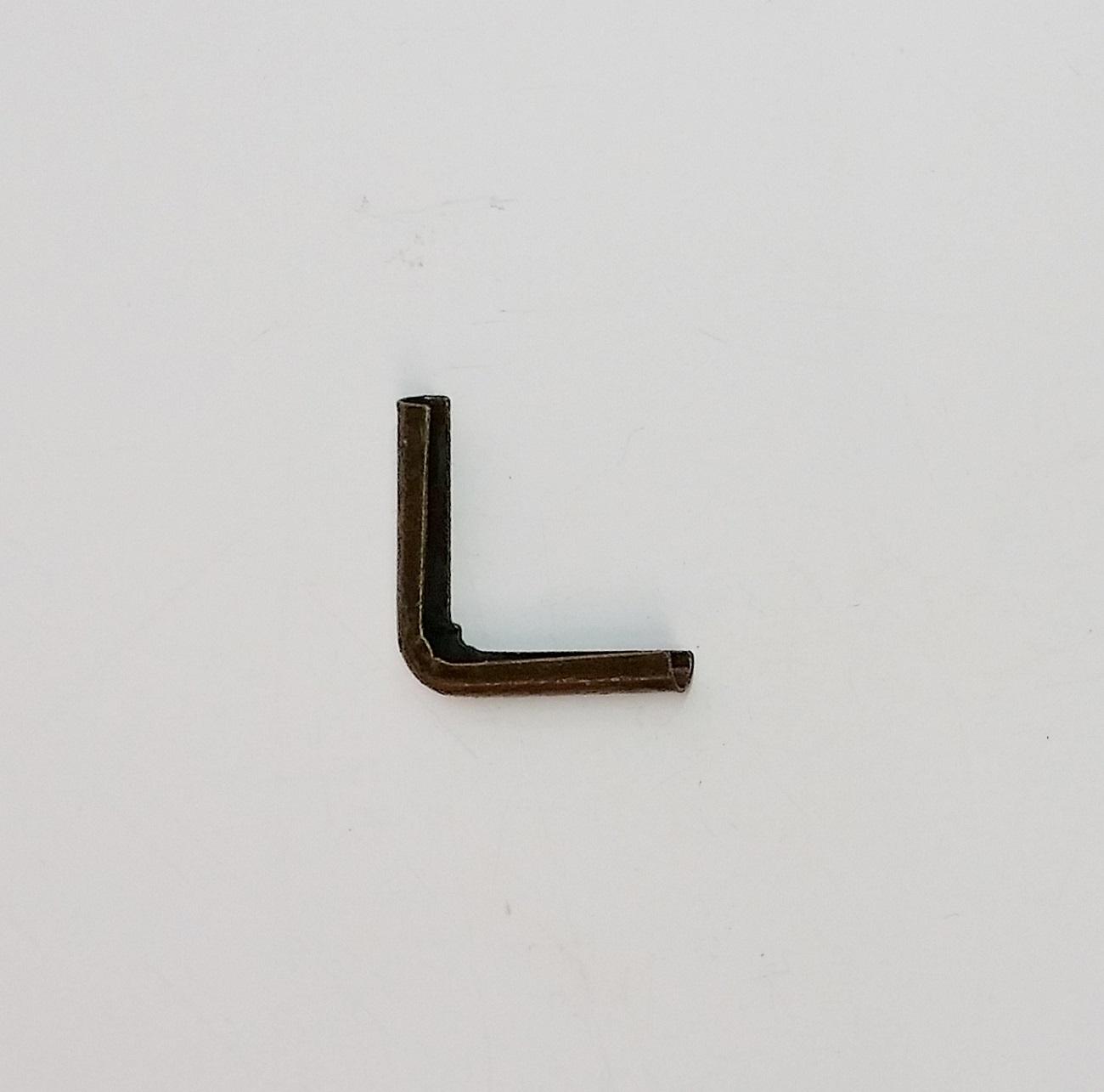 Cantoneira 19mm x 19mm Ouro Velho