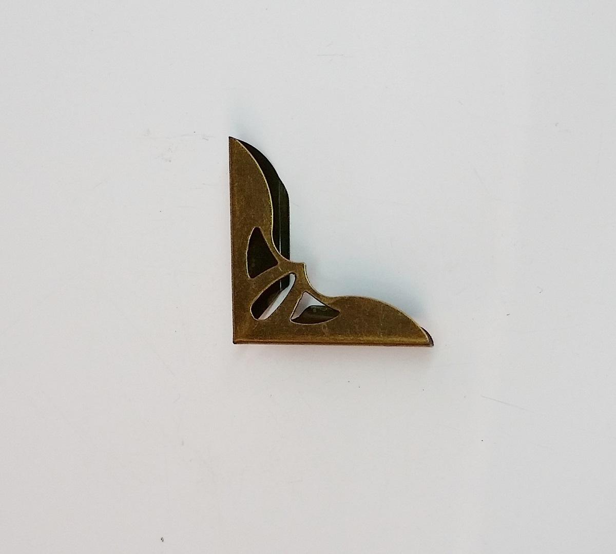 Cantoneira 31mm x 31mm Ouro Velho