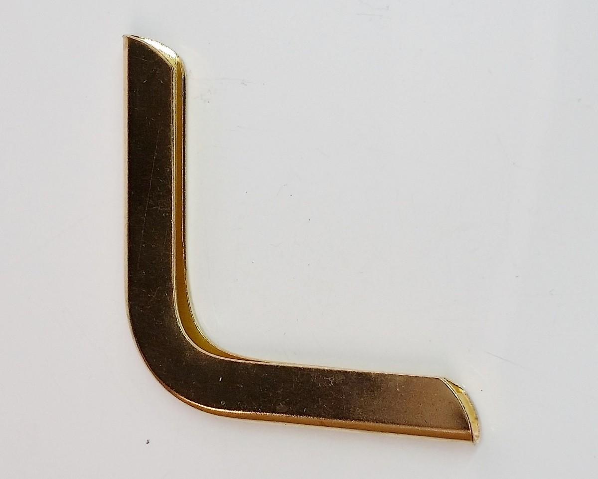 Cantoneira 60mm x 60mm Latonada