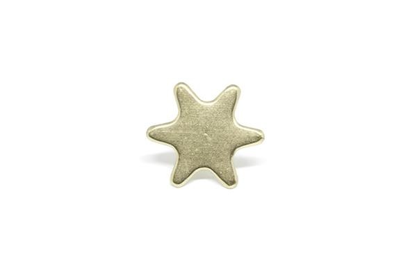 Enfeite Estrela Latonado