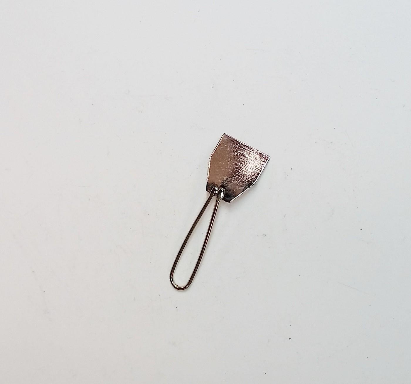Enfeite Mini Espátula Niquelada