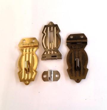 Fecho Caixote p/ Cadeado Ouro Velho