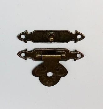 Fecho Escorpion Ouro Velho