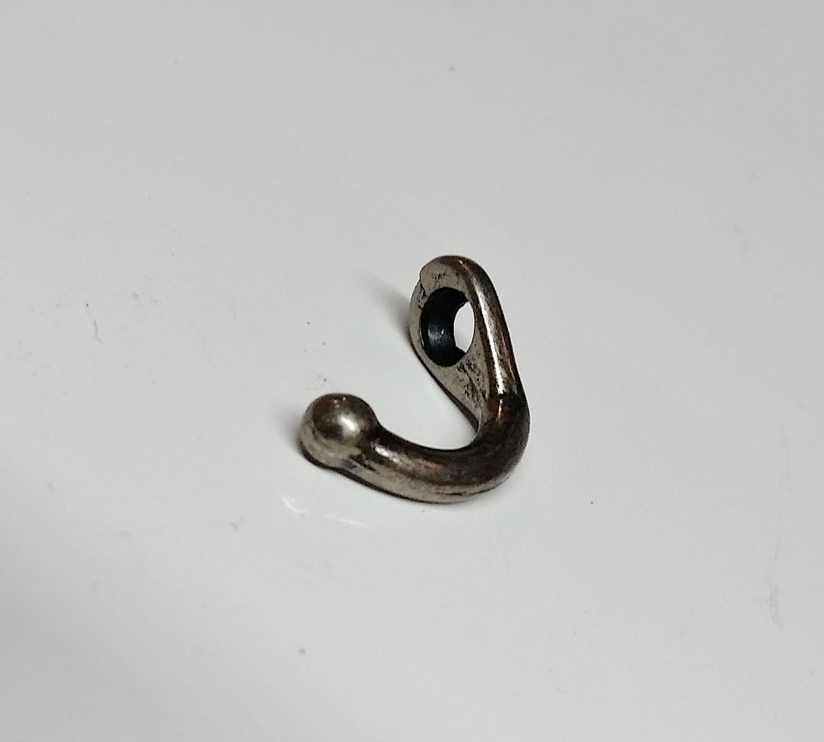 Gancho Pequeno p/ Chaveiro Prata Velha
