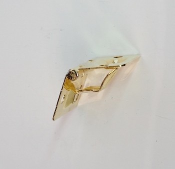 Junção 43mm x 30mm c/ Limitador de Abertura Latonada