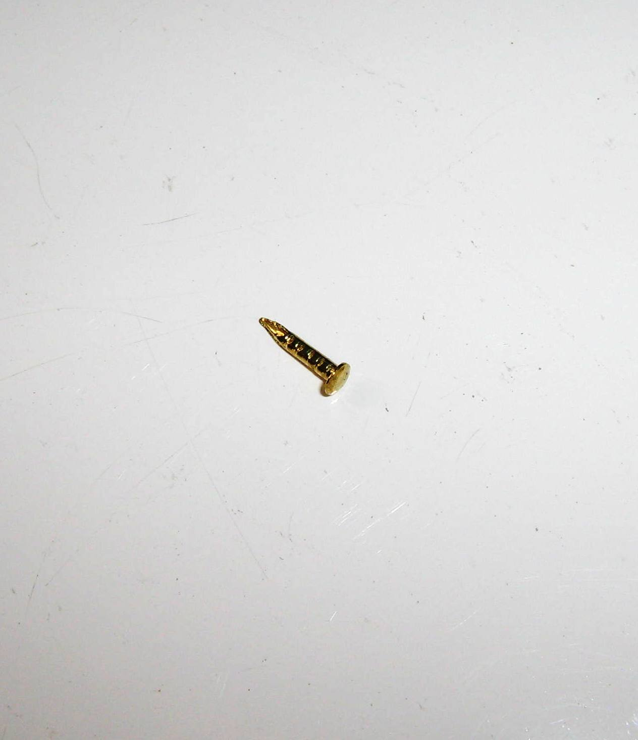 Prego 9mm x 1,5mm Latonado