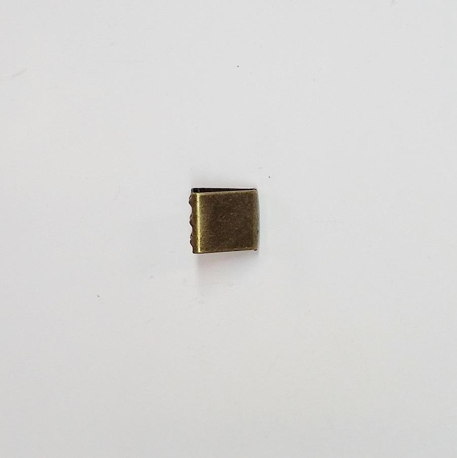 Remate de Alça 11mm c/ Garra Dentada Ouro Velho