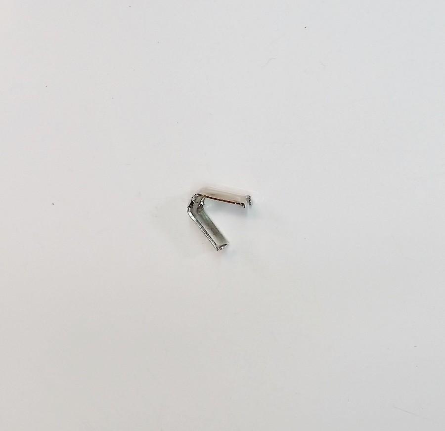 Remate de Alça 6mm Garra Dentada Niquelada