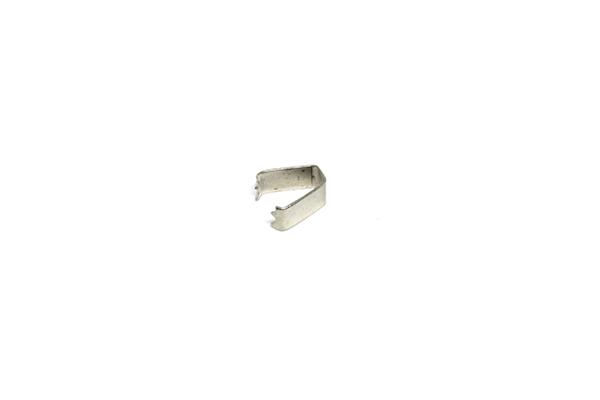 Remate de Alça 9mm c/ Garra Dentada Niquelado