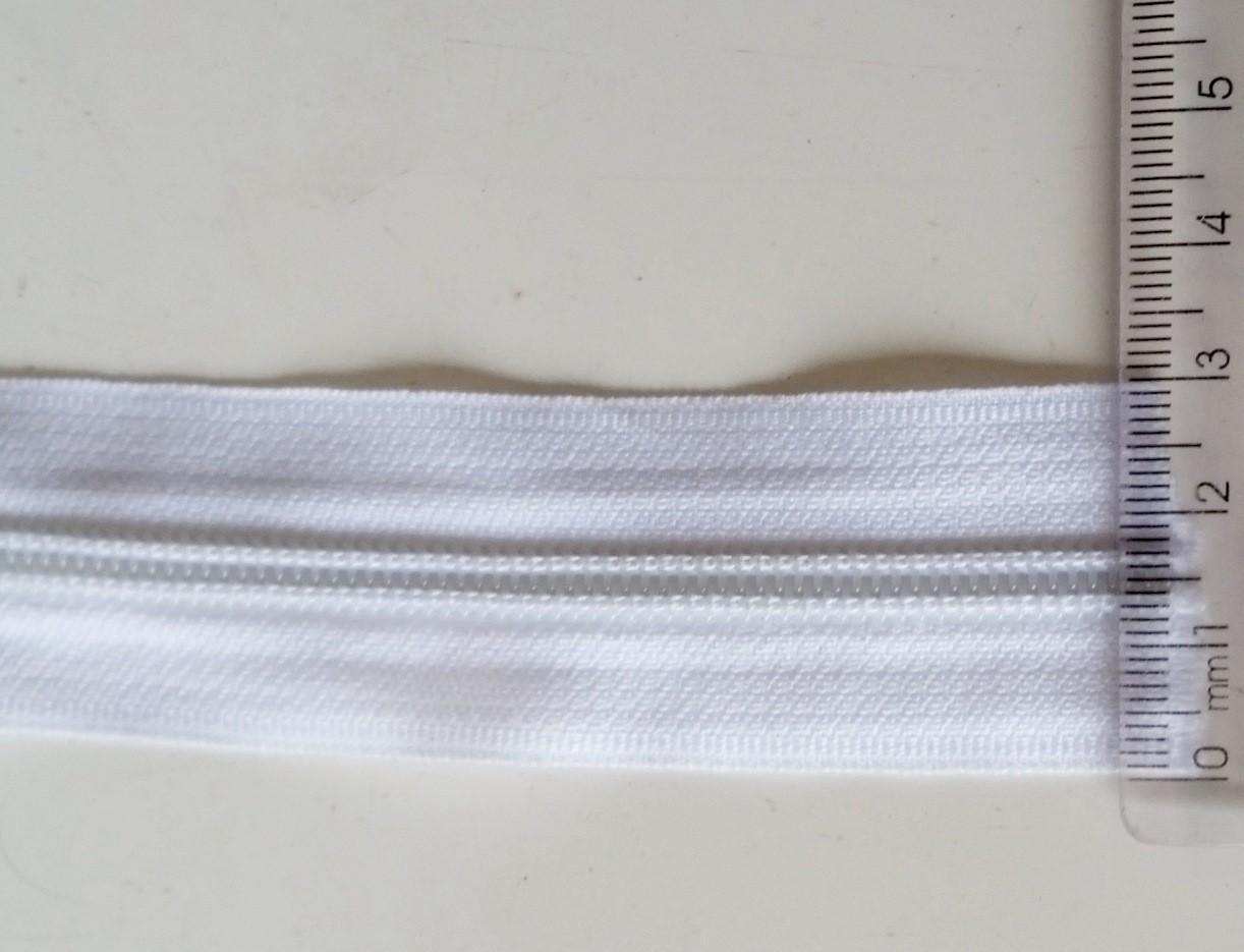 Zíper Número 5 Branco (emb c/ 1 metro)