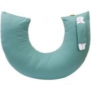 Almofada de Amamentação para Bebê 130 Fios Verde Balsamo