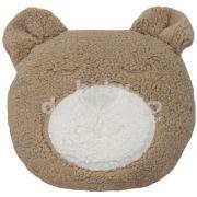 Almofada Decorativa Urso Tedy Pelúcia Bege