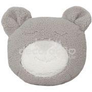 Almofada Decorativa Urso Tedy Pelúcia Cinza