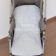 Capa Para Carrinho Estampado Luigi Azul Bebê