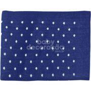 Cobre Leito Para Berço Tricot Elliot Tricot Azul marinho com branco