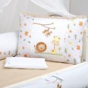 Kit de Berço 09 Peças Floresta Caqui Brubrelel Baby