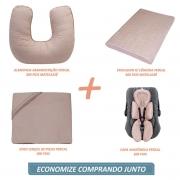 Kit Essencial 05 peças 100% algodão - Matelassê 300 fios Rosa Velho