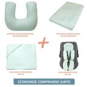 Kit Essencial 05 peças 100% algodão - Matelassê 300 fios Verde Menta