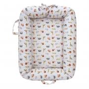 Ninho para bebê Redutor de Berço 180 Fios Safari