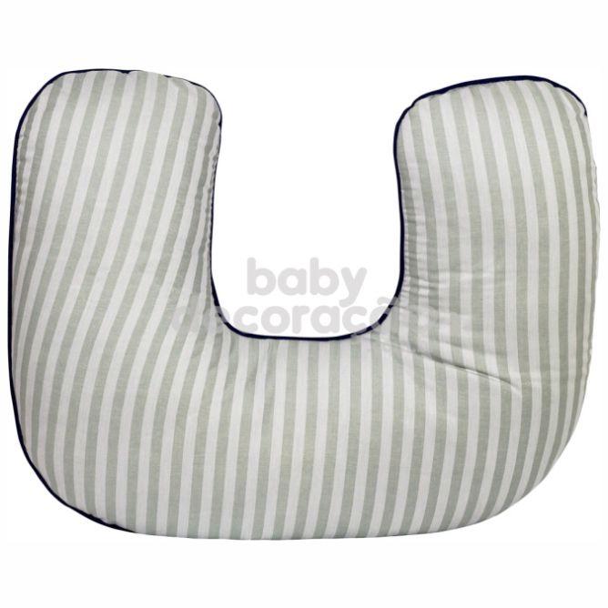 Almofada de Amamentação para Bebê 180 Fios Amore  Azul Marinho