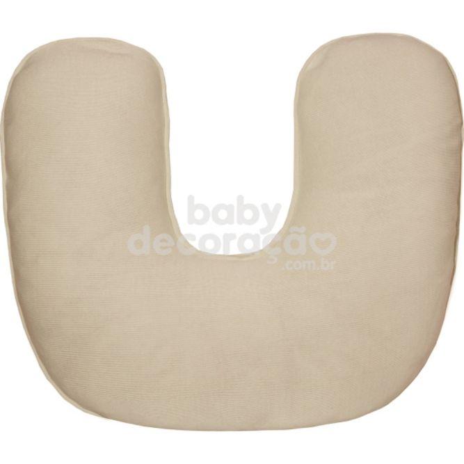Almofada de Amamentação para Bebê Tricot Bege
