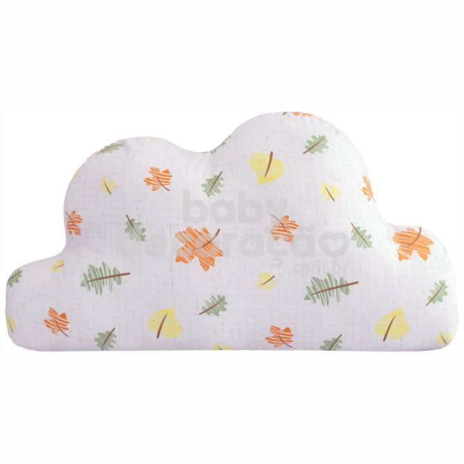 Almofada Decorativa Nuvem Maya 180 fios Estampado folhas
