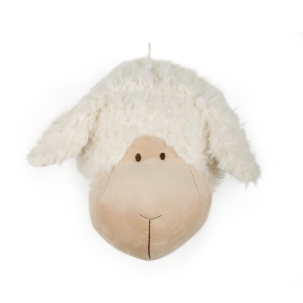 Cabeça de Ovelha Pelúcia