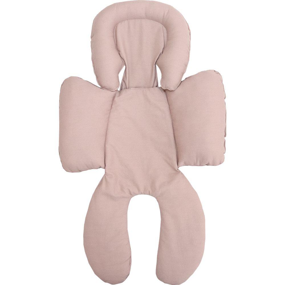 Capa de Bebê Conforto Anatômica Percal 300 Fios Rosa Velho