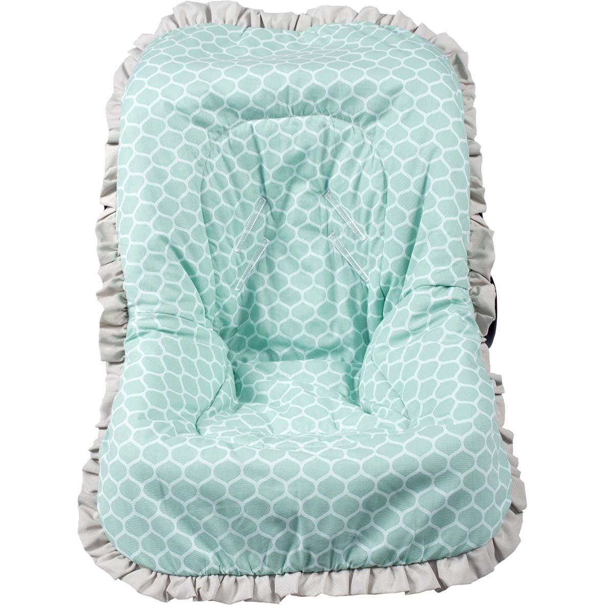 Capa de Bebê Conforto Nacional até 13kg - Green Verde