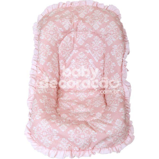 Capa de Bebê Conforto Nacional até 13kg - Valentina Rosa