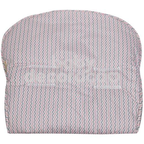 Capa Para Carrinho Estampado Petit Rosa Premium
