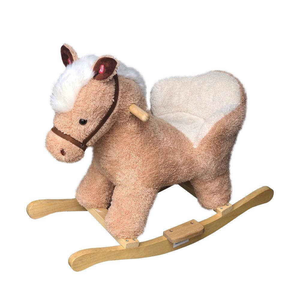 Cavalo de Balanço Musical c/ Assento