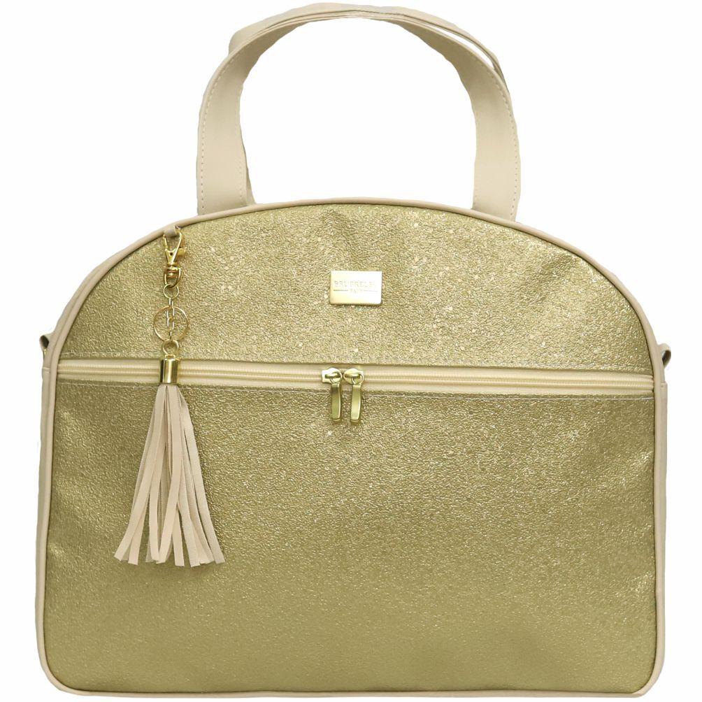 Conjunto de Bolsas 2 Peças Sunshine Dourado