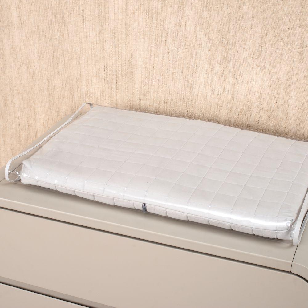 Kit Essencial 05 peças 100% algodão - Matelassê 300 fios Cinza