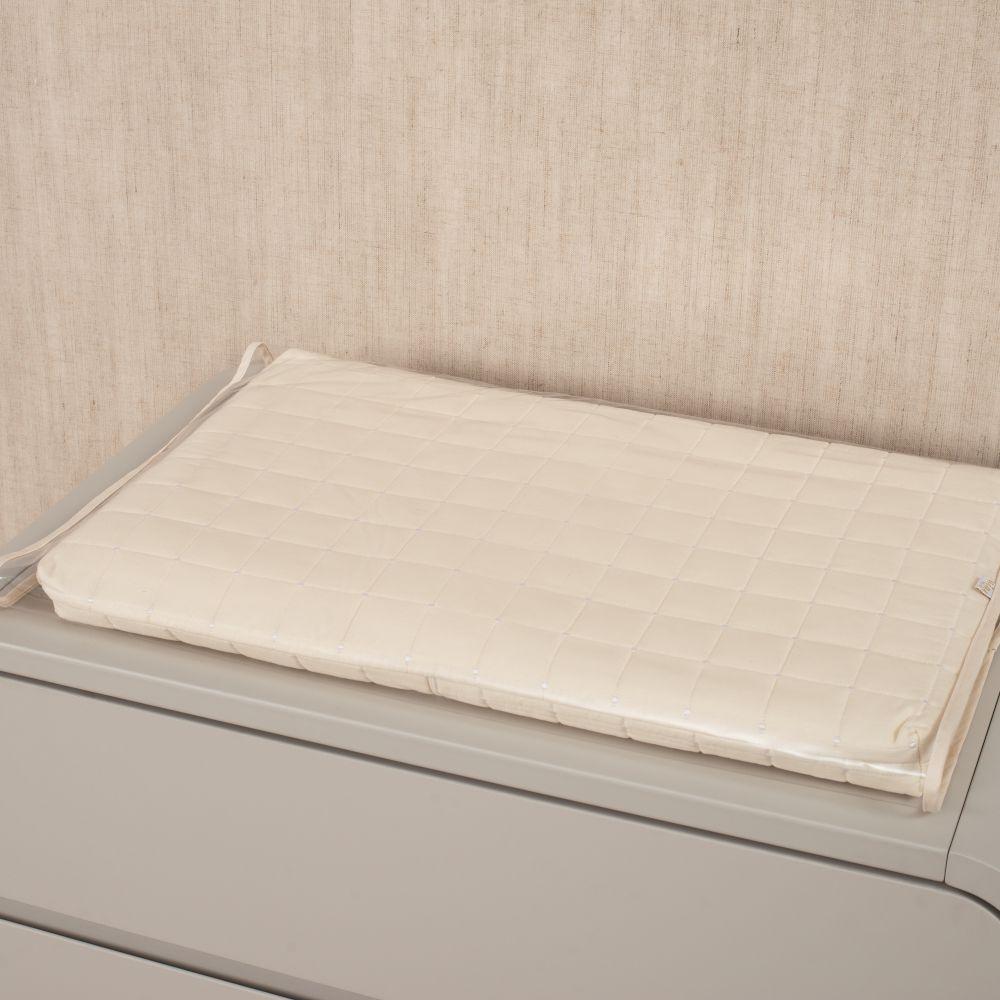 Kit Essencial 05 peças 100% algodão - Matelassê 300 fios Off White