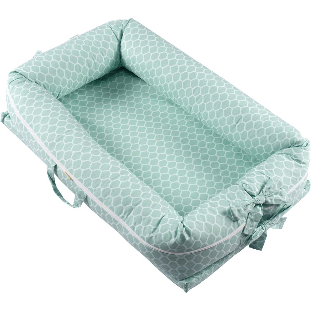 Ninho para bebê redutor de berço Green Verde Menta