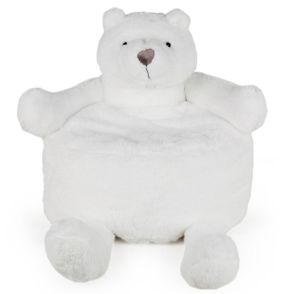Puff de Urso Polar Pelúcia