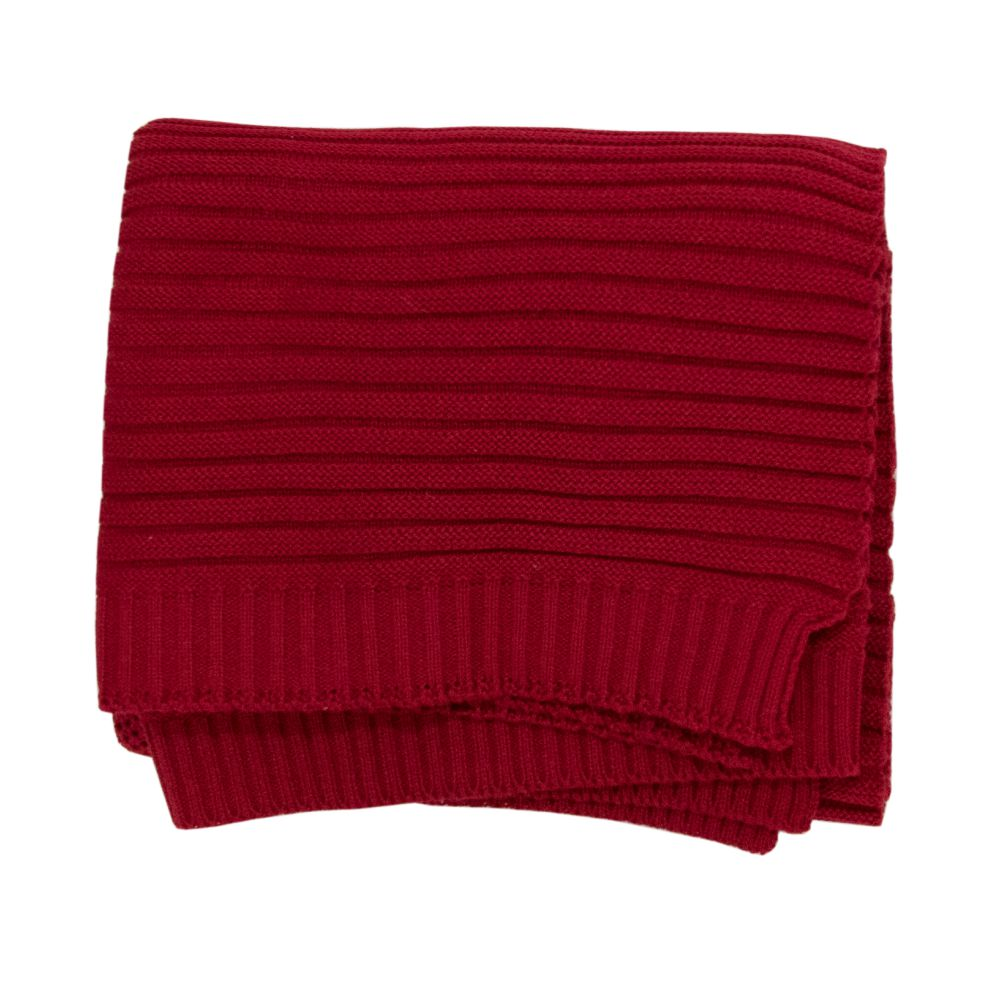 Saída Maternidade 03 Peças Tricot Elegance com Macacão Vermelho