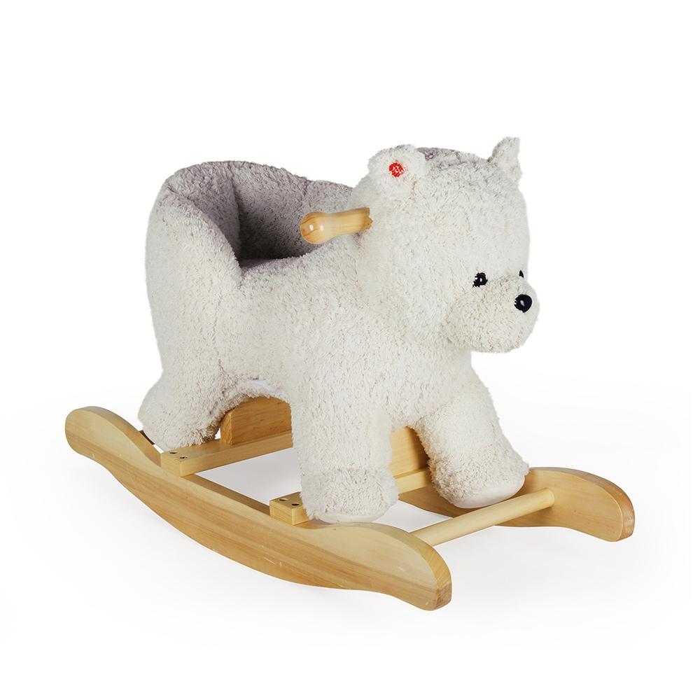 Urso Polar de Balanço Musical c/ Assento