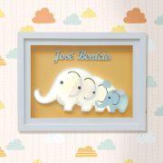 Porta Maternidade Família Elefantes ( Valor por cada Quadro )